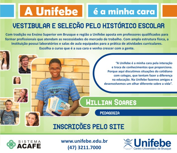 A Unifebe é a minha cara – 22-05-2010