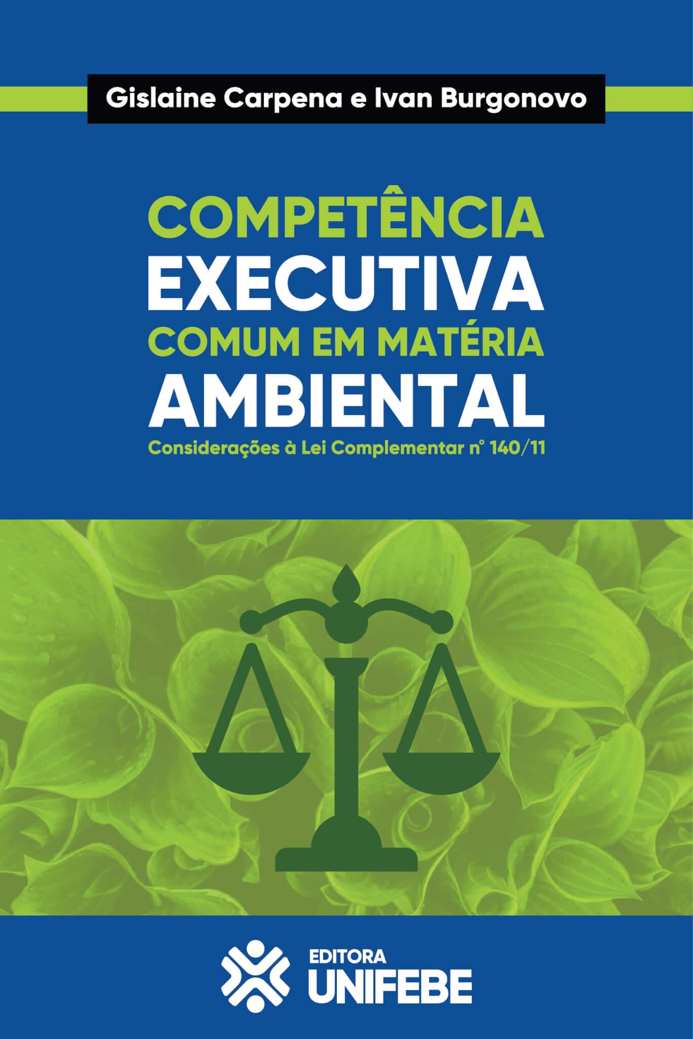 2 capa competencia executiva comum em materia ambiental