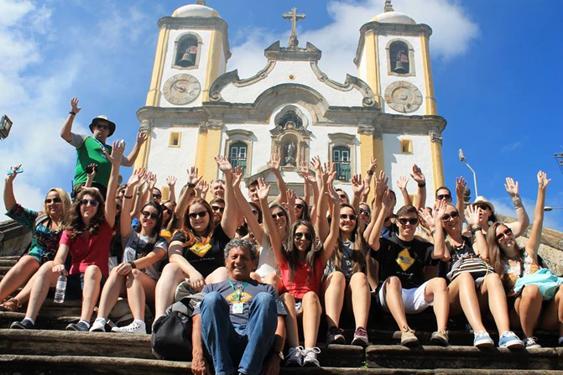 Curso de Arquitetura e Urbanismo realiza viagem de estudos em Minas Gerais