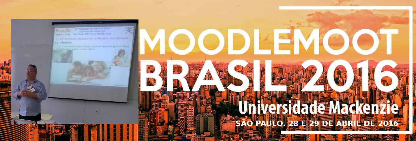 Professor apresenta palestra no 12º Moodle Moot Brasil