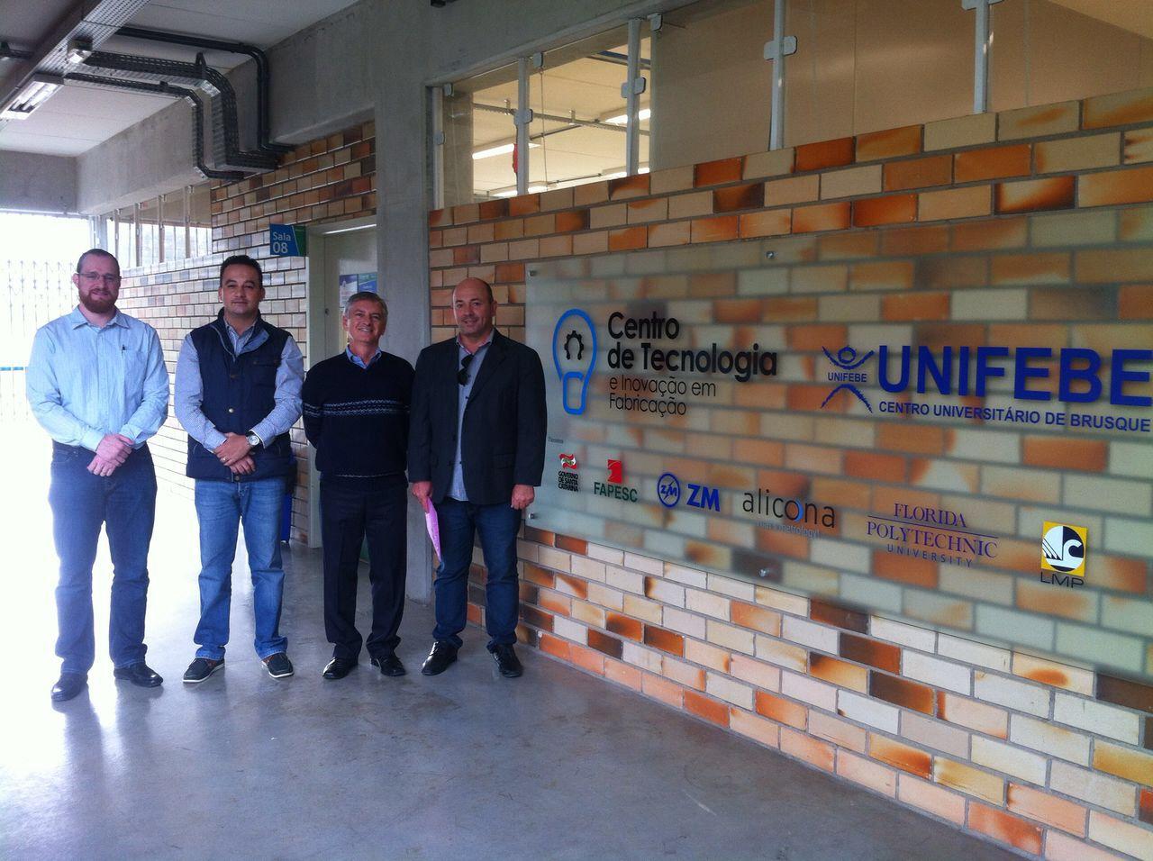 UNIFEBE recebe a visita do secretário adjunto de Estado da Casa Civil