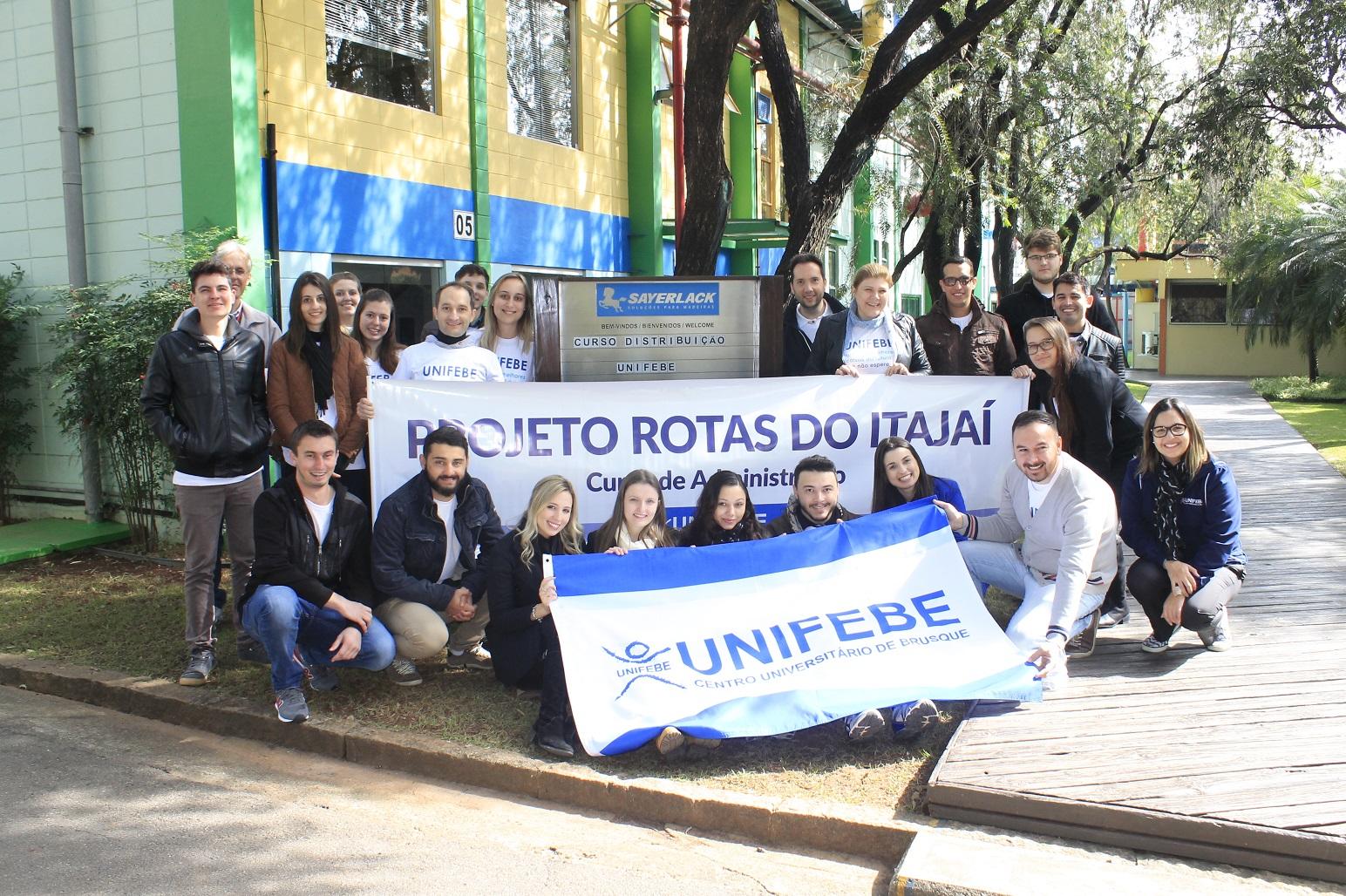 """""""Rotas do Itajaí"""" visita as empresas Natura e Renner Sayerlack em São Paulo"""
