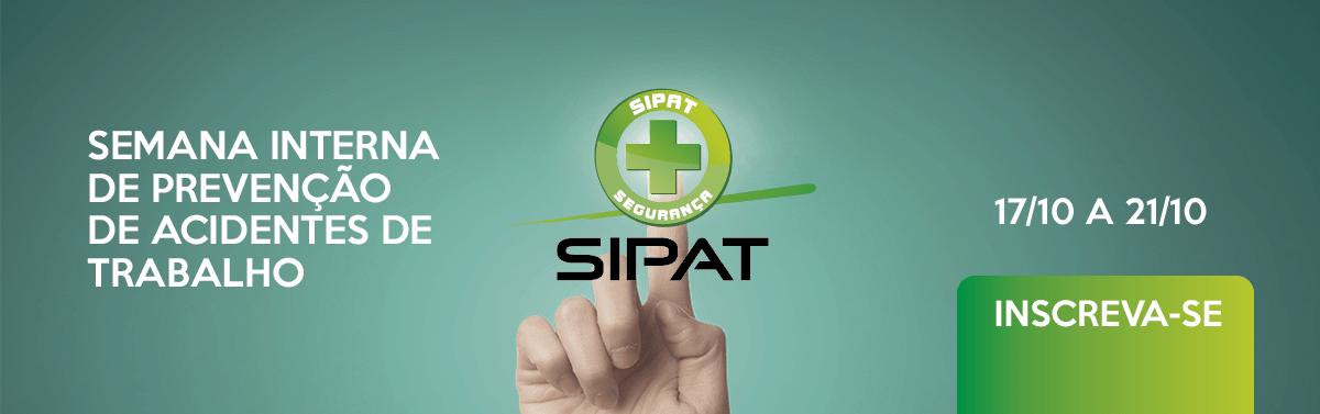Inscrições SIPAT