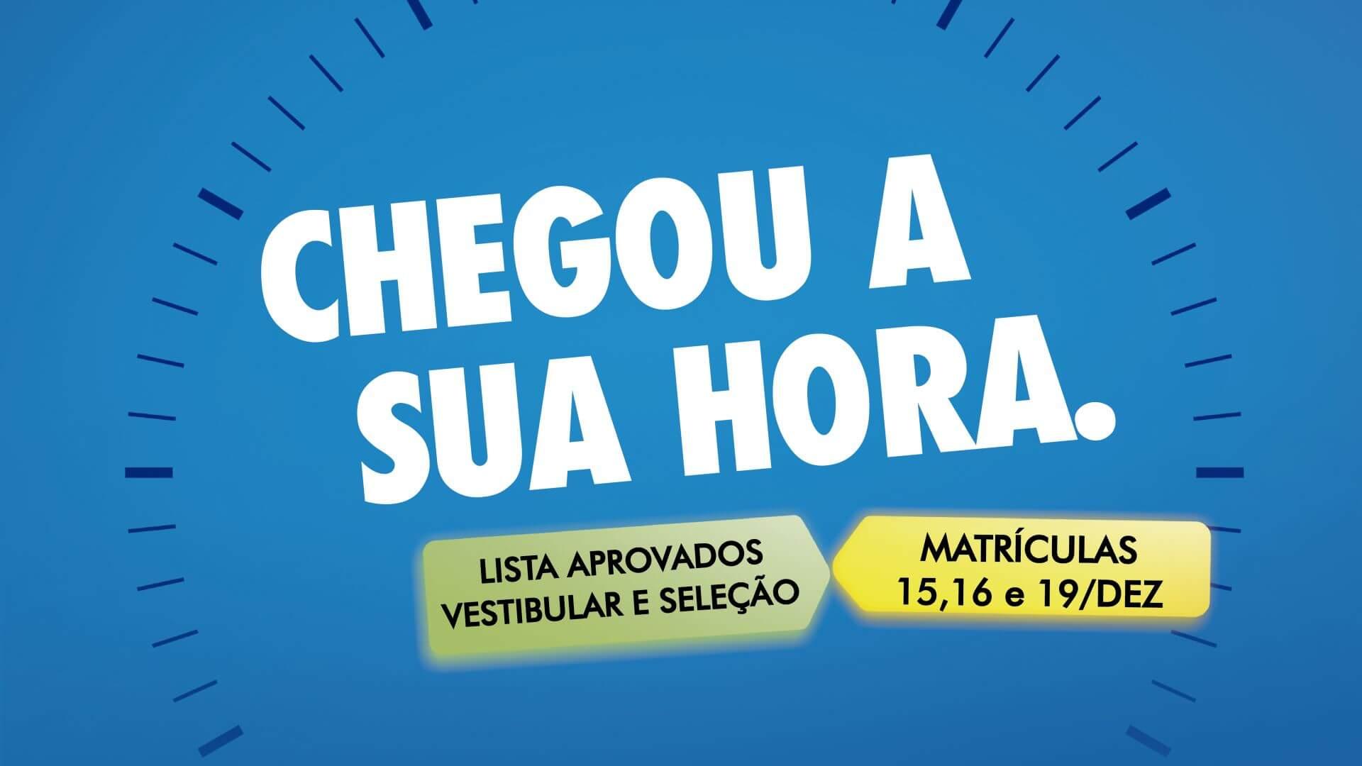 Confira os horários de matrícula do vestibular e seleção UNIFEBE 2017/1