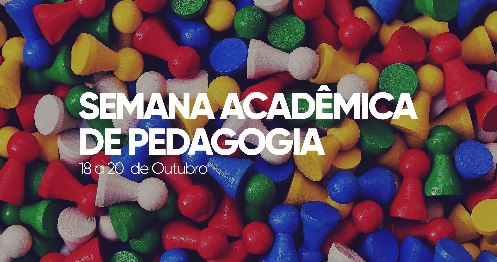 Semana acadêmica de Pedagogia destaca prática profissional