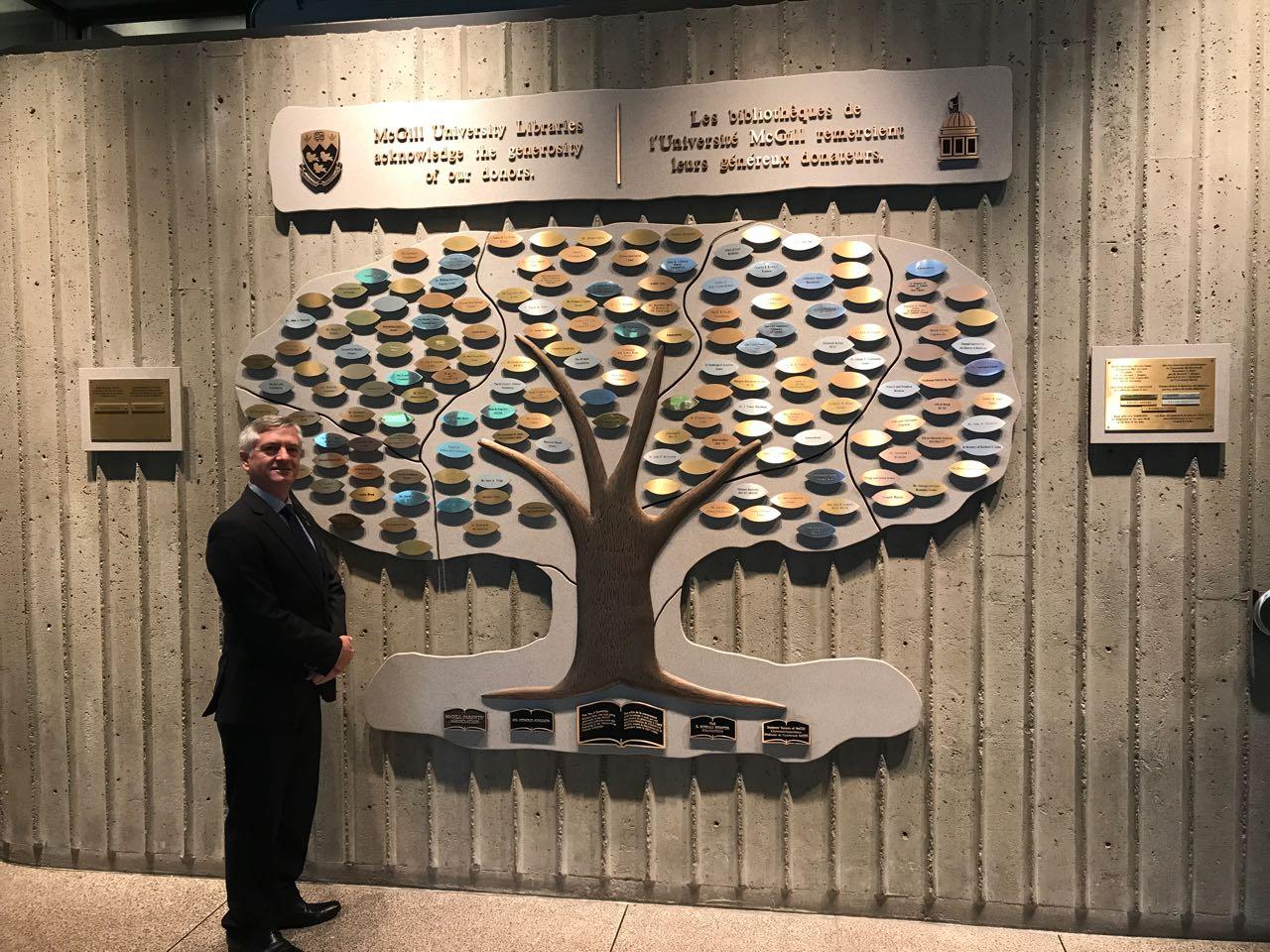 Reitor visita universidades canadenses em busca de parcerias