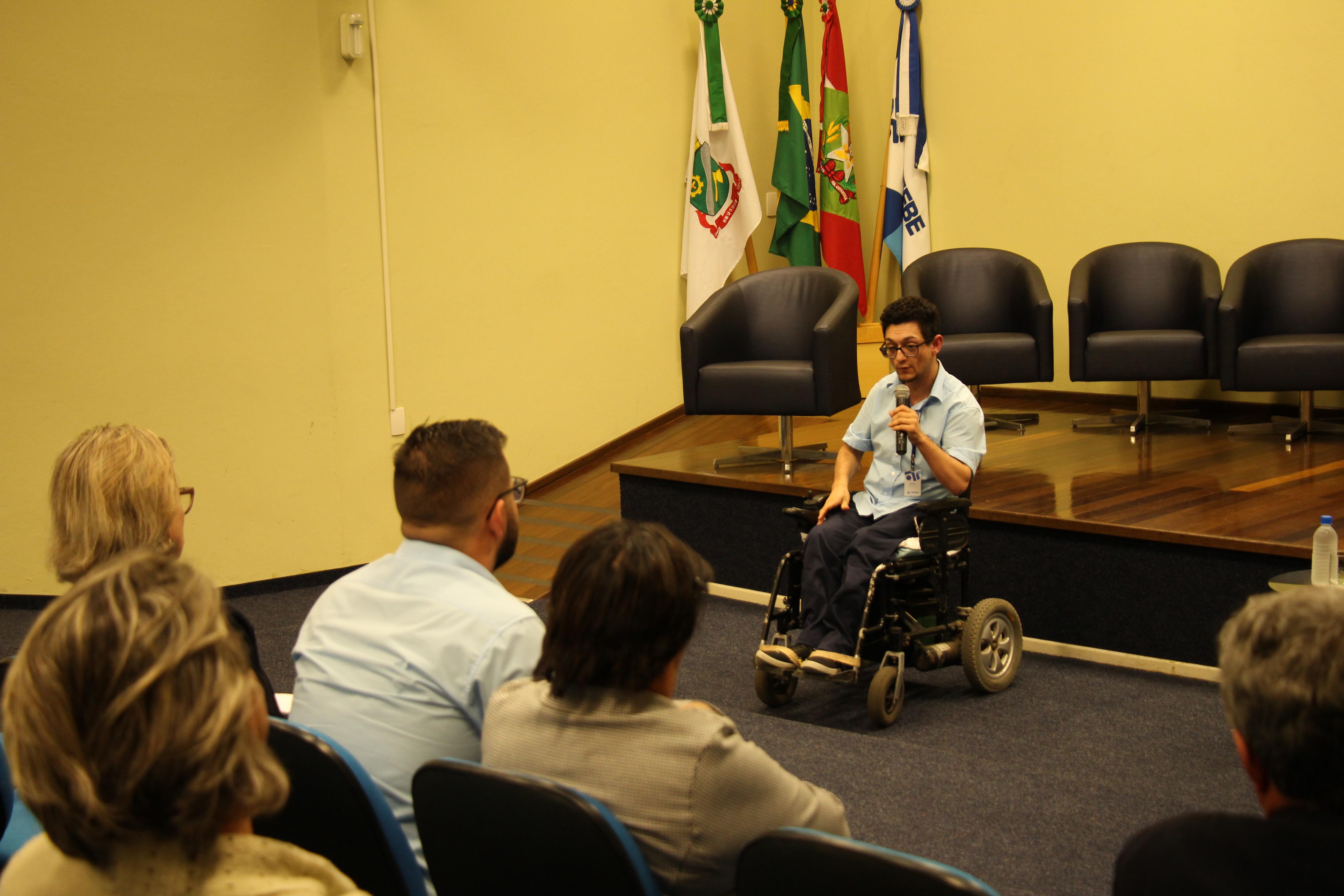 5ª Semana de Acessibilidade e Inclusão da UNIFEBE debate cultura inclusiva