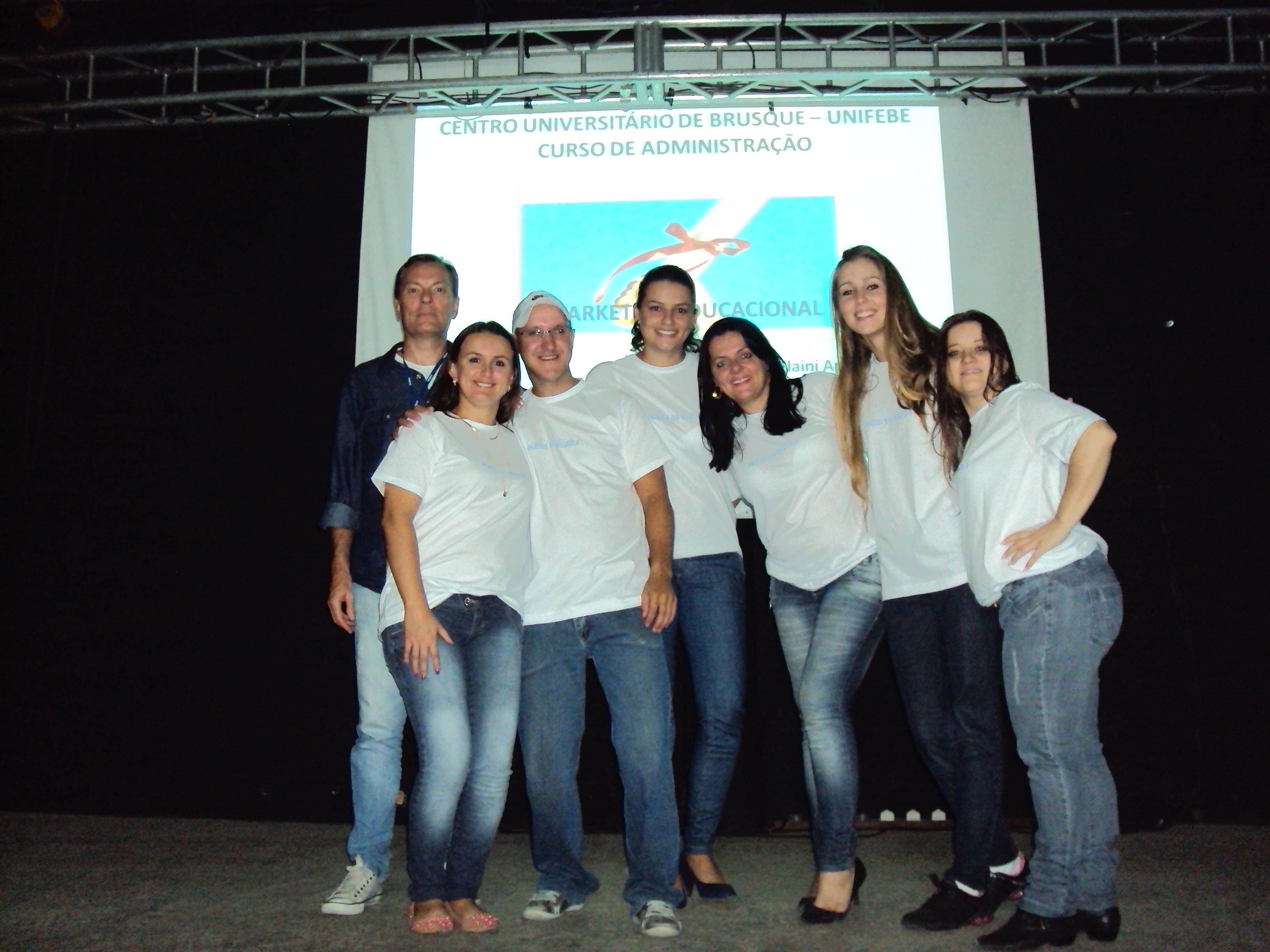 Marketing Educacional é tema ação de acadêmicos de Administração