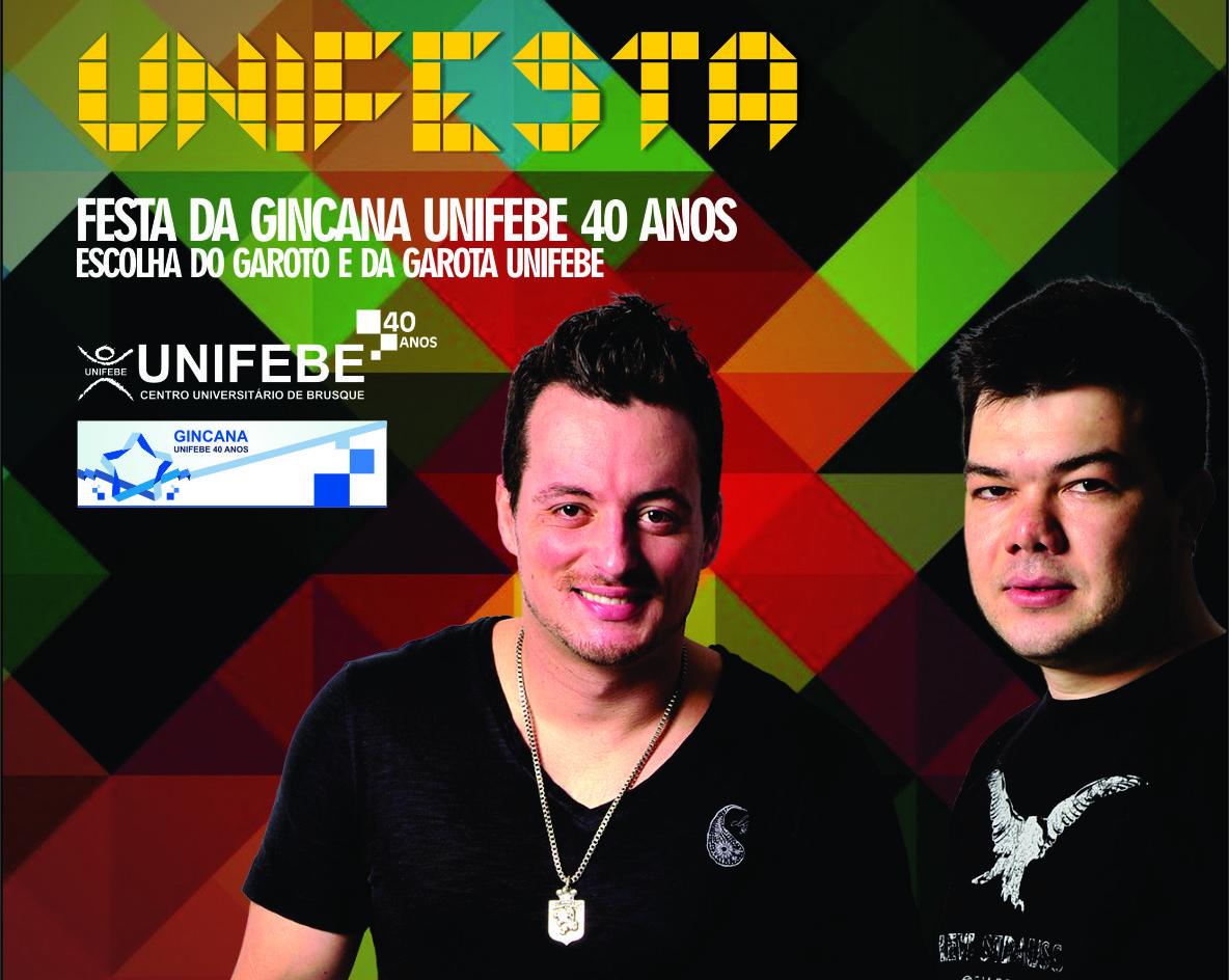 Sexta-feira tem UNIFESTA no Beira Rio com escolha do Garoto e Garota UNIFEBE