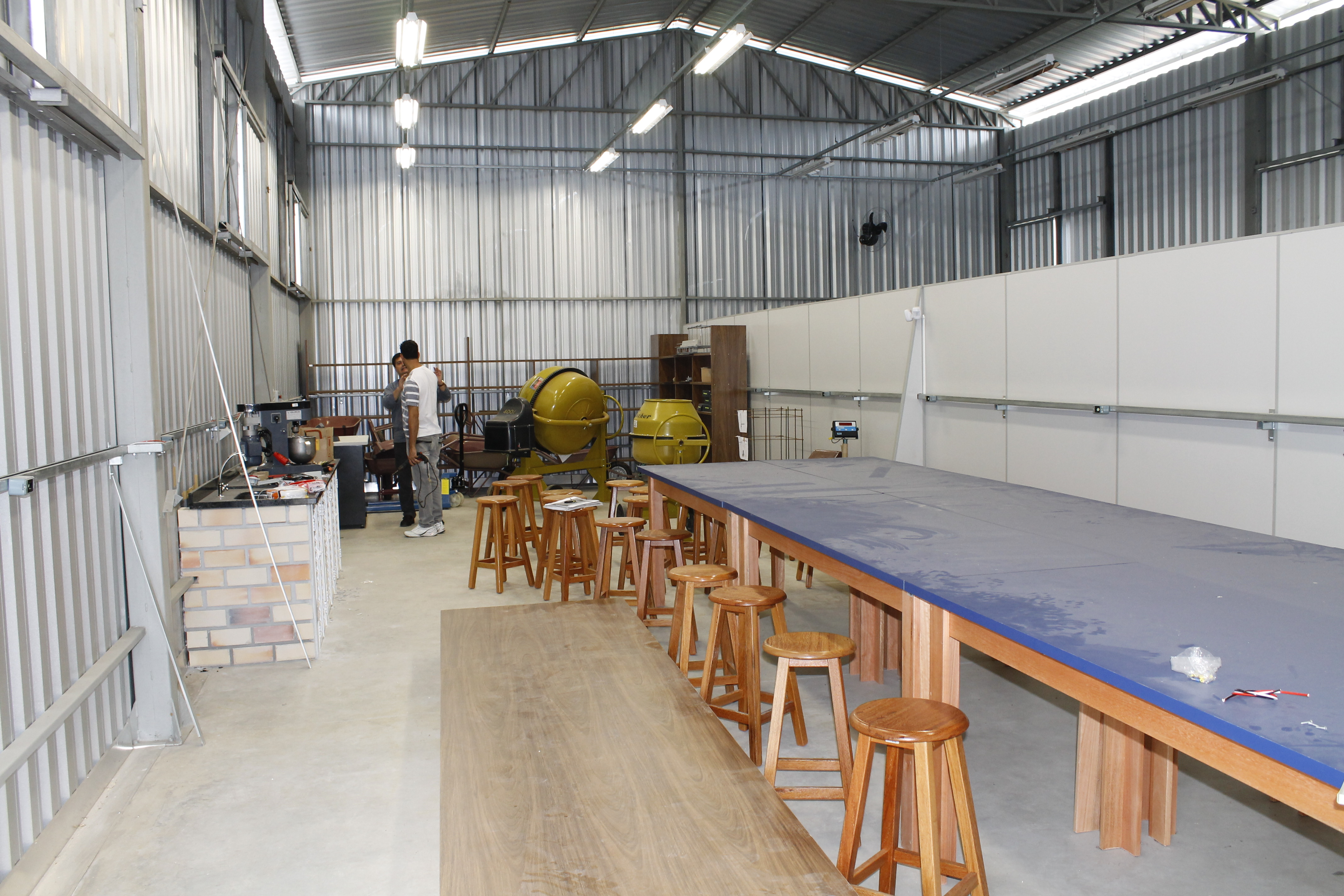 UNIFEBE inaugura Laboratório de Materiais de Construção Civil