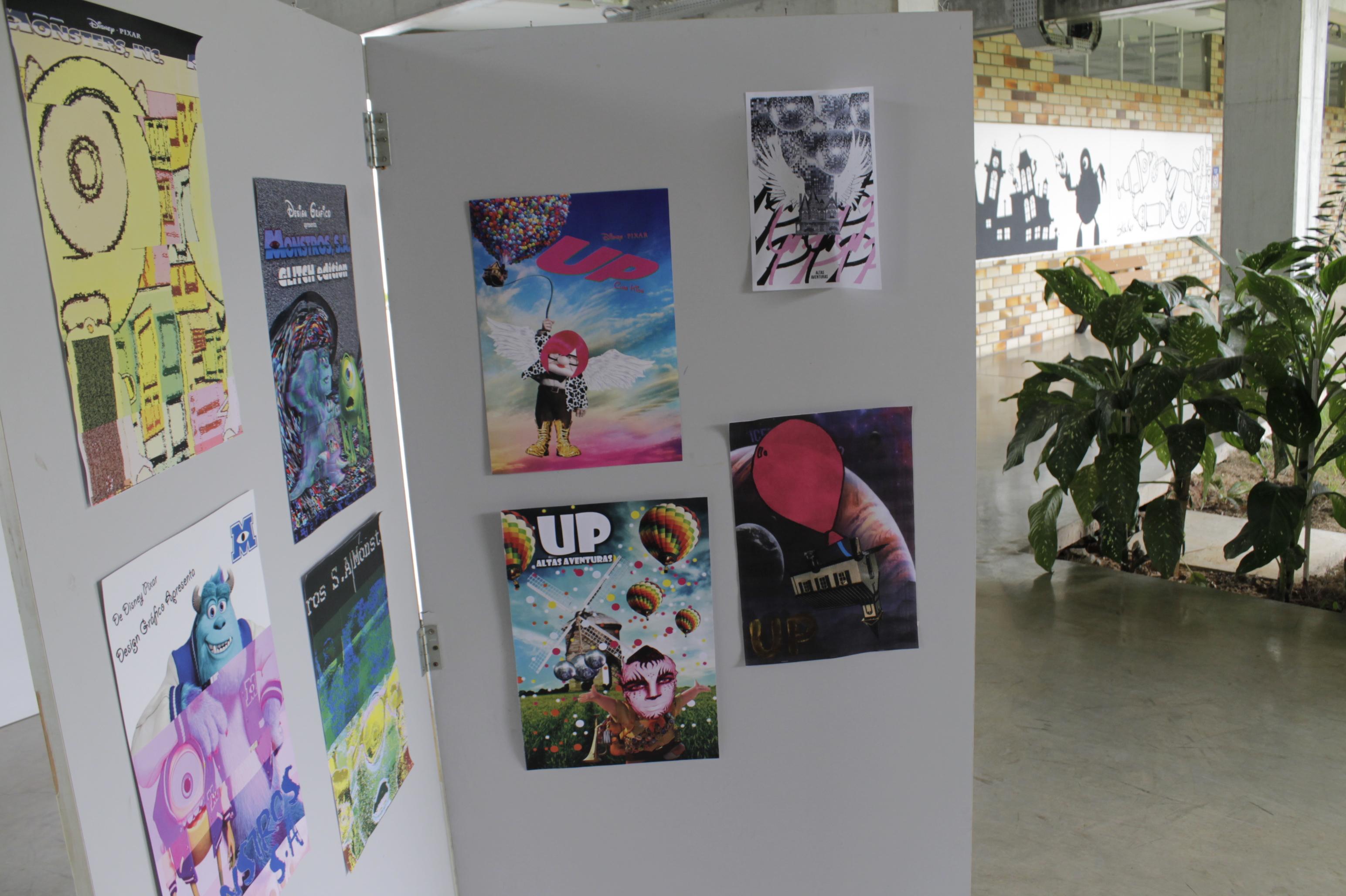 Sucessos da Pixar ganham releitura em exposição de Design Gráfico