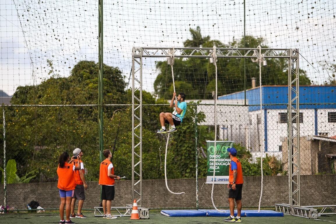 Acadêmicos de Educação Física vivenciam na prática gestão de evento esportivo