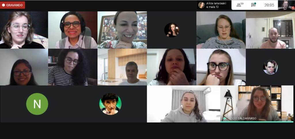 Acadêmicos de Letras-Inglês participam de aula virtual com professora de universidade do Peru