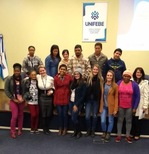 Acadêmicos de Pedagogia da UNIFEBE apresentam estágios realizados no EJA