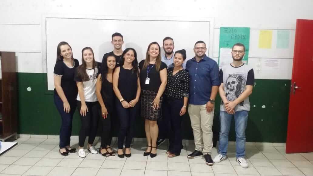 Acadêmicos do curso de Direito palestram na Escola Osvaldo Reis