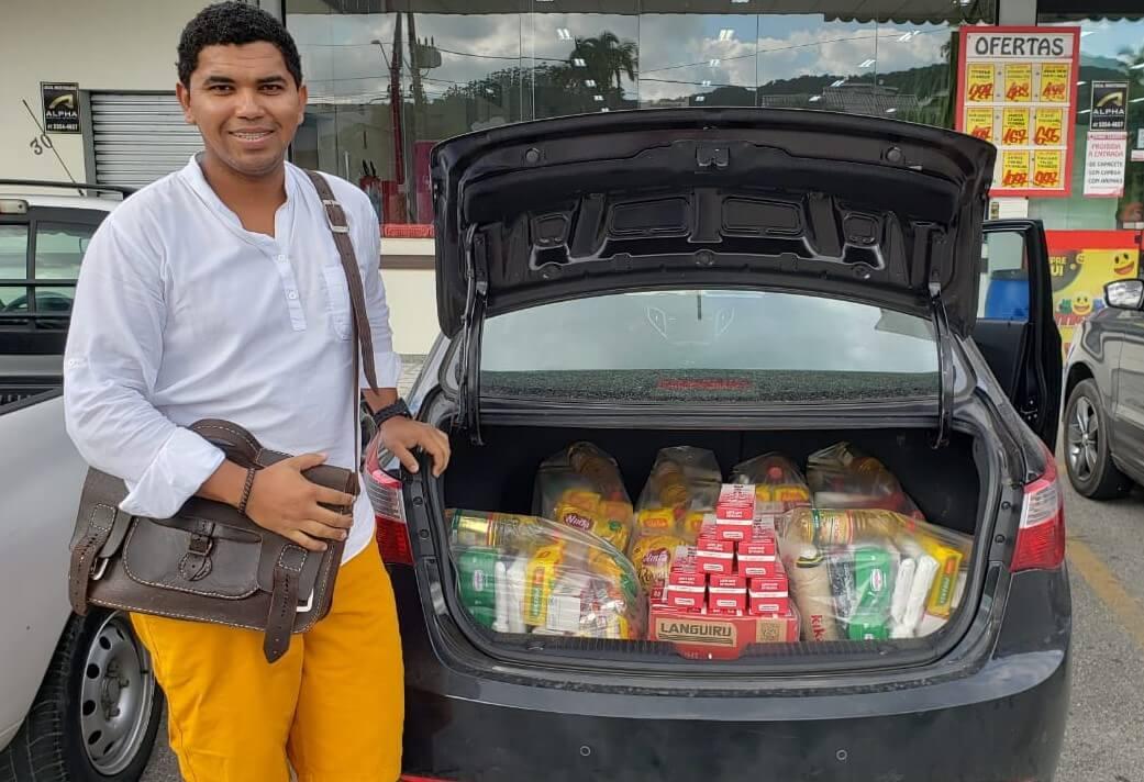 Ação de extensão do curso de Direito desenvolve campanha de arrecadação de alimentos