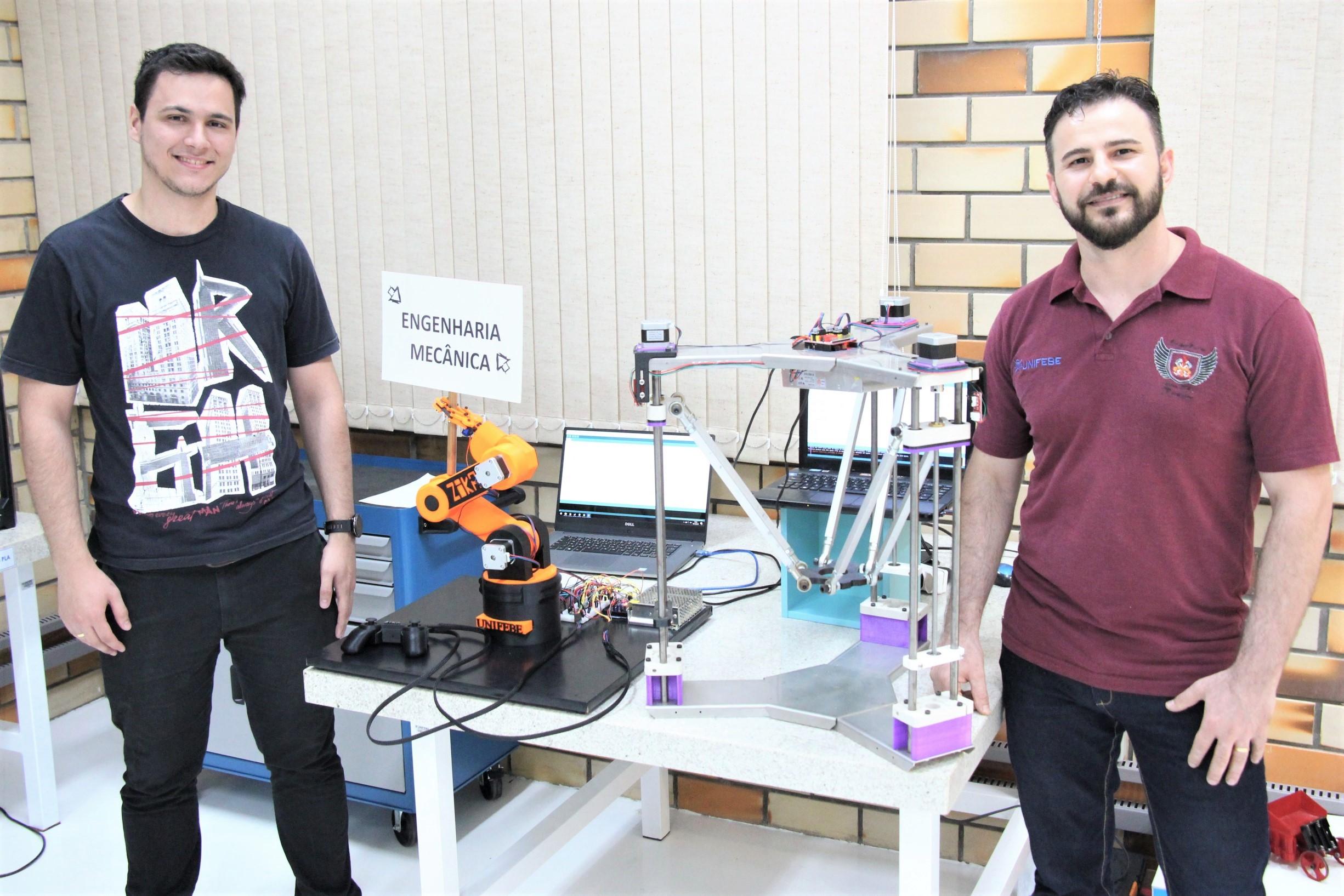 Alunos de Engenharia Mecânica desenvolvem projetos de patinete elétrico e robôs