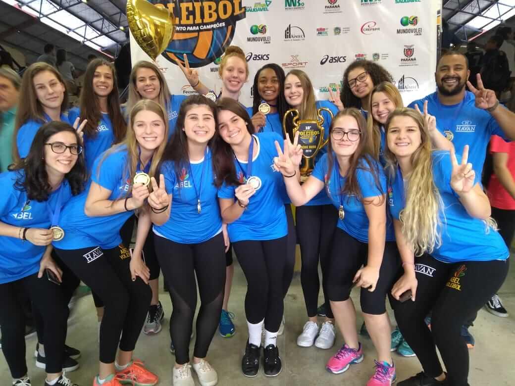 Alunos do Colégio Amplo/UNIFEBE conquistam bicampeonato da Taça Paraná