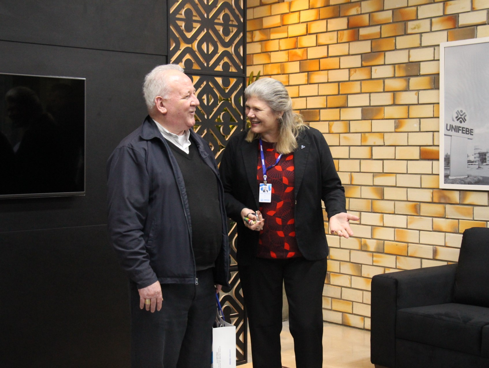 Arcebispo de Florianópolis visita a UNIFEBE