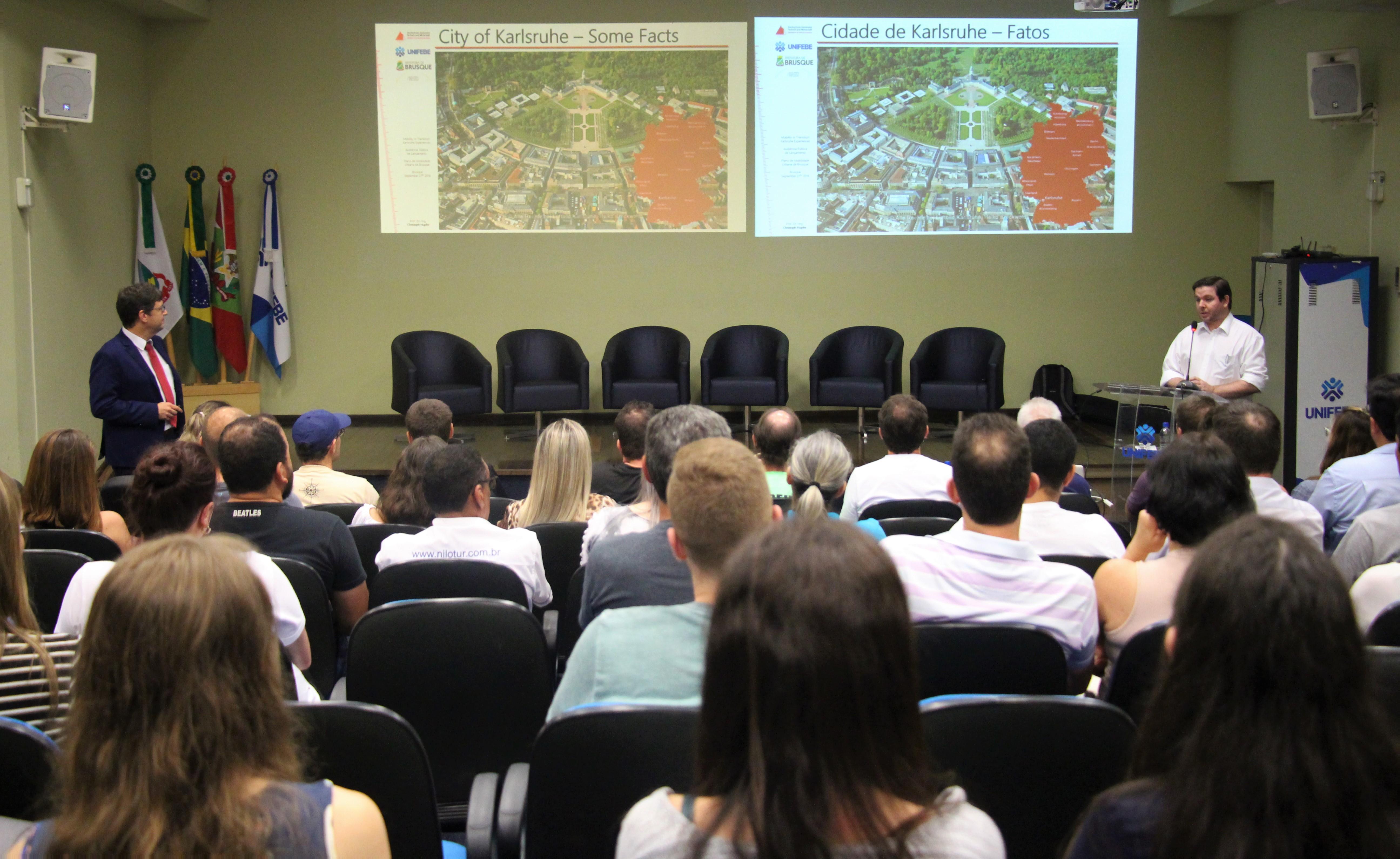 Audiência Pública apresentará metas do Plano de Mobilidade Urbano de Brusque