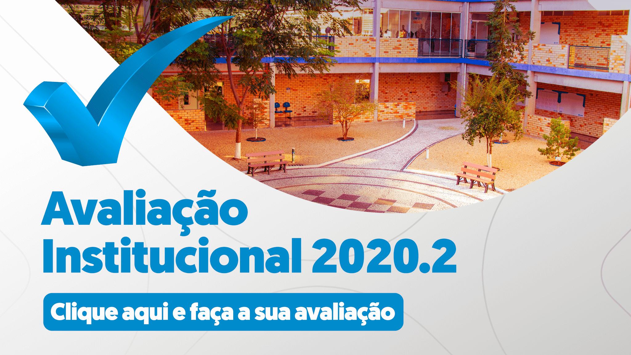 Avaliação Institucional Banner mobile 2020.2