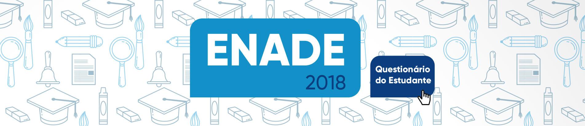 Banner rotativo desktop - Enade 2018