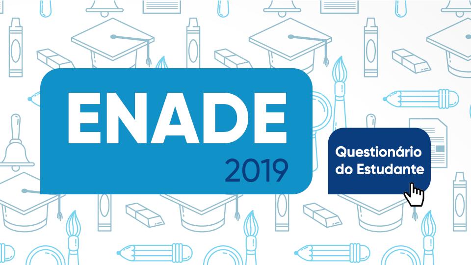 Banner rotativo mobile - Enade 2019 questionário