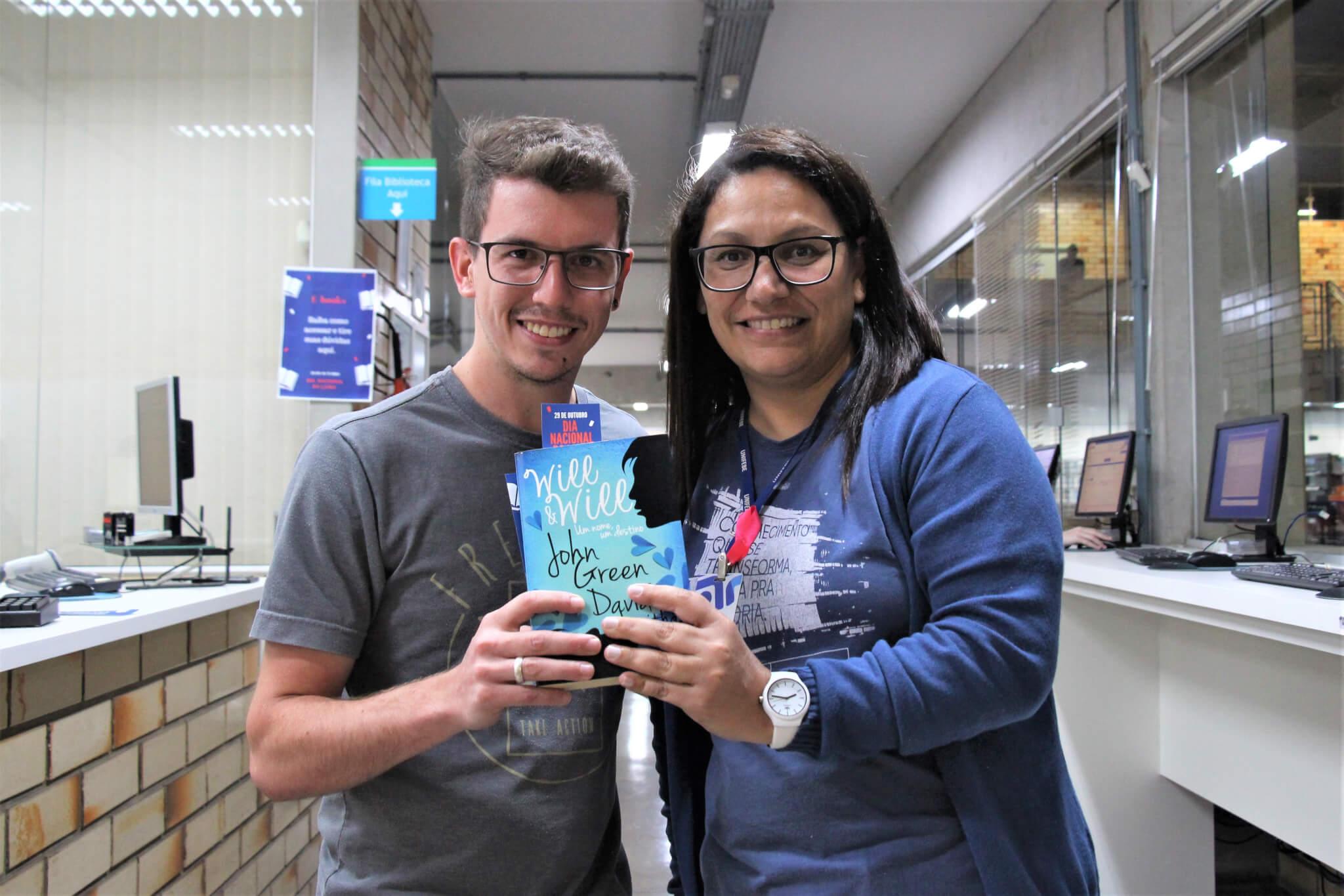 Biblioteca realiza ações no Dia Nacional do Livro