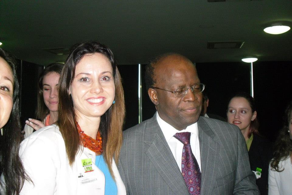 UNIFEBE visita o presidente do STF em Brasília