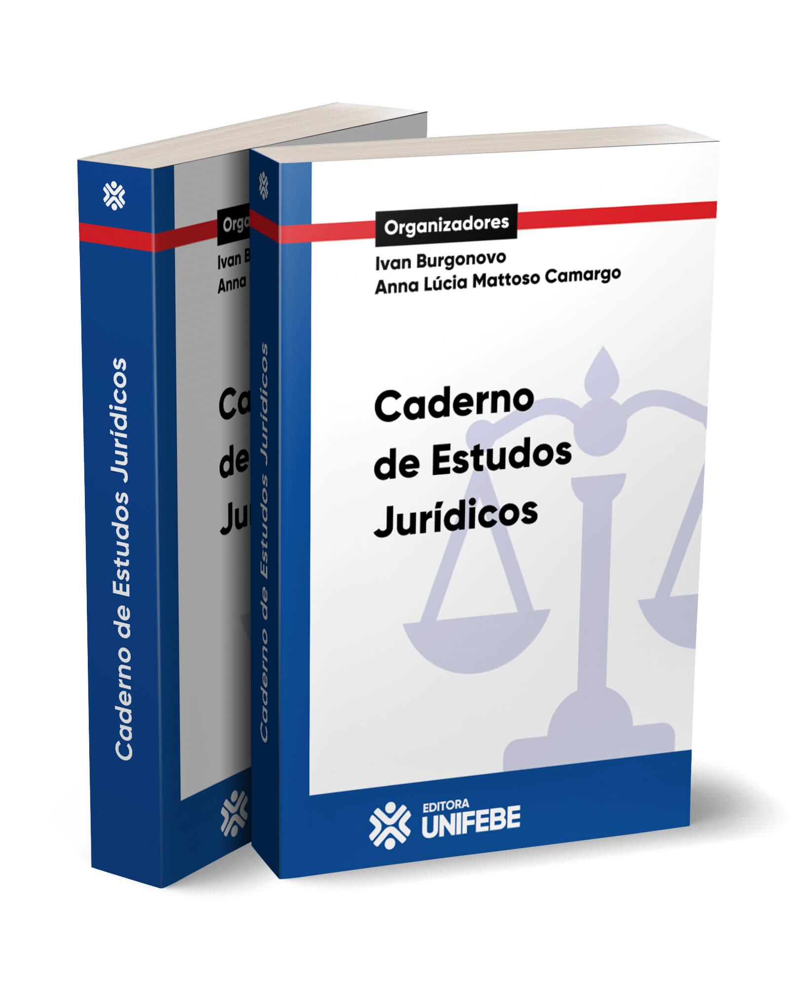 caderno de estudos jurídicos capa