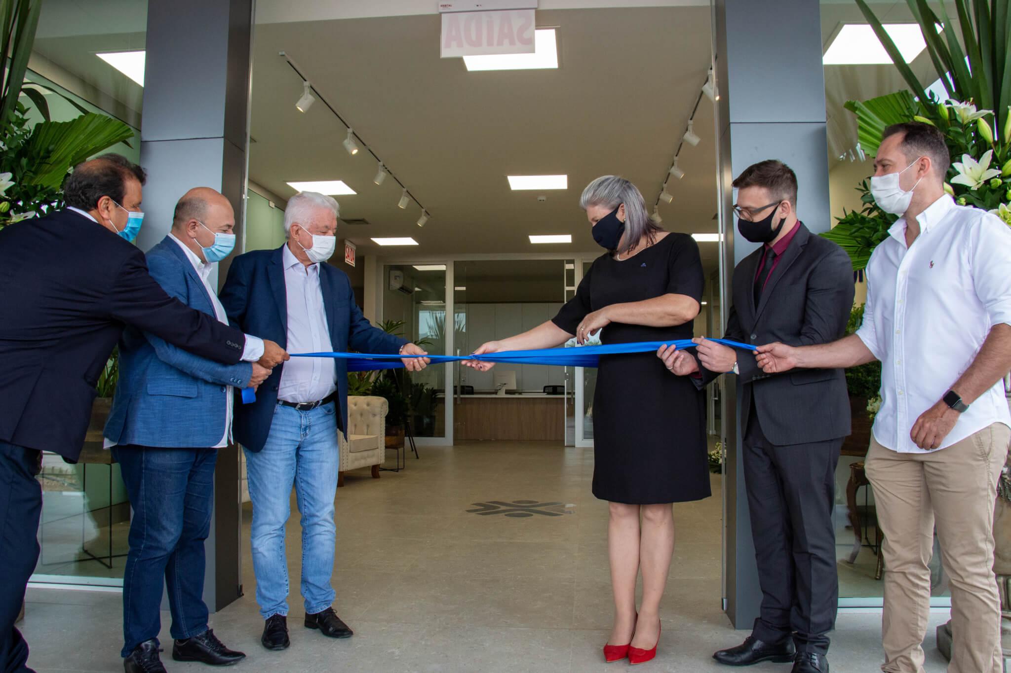 Cerimônia marca inauguração do Bloco da Saúde Doutor Carlos Moritz