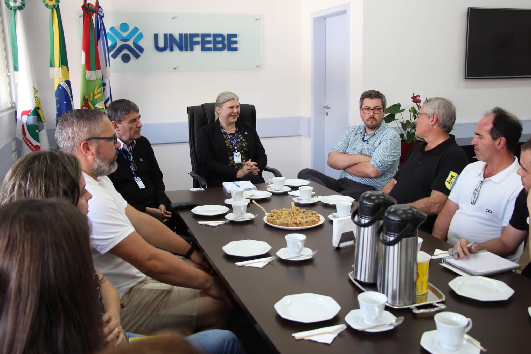 Comitiva Alemã de Karlsdorf-Neuthard visita a UNIFEBE