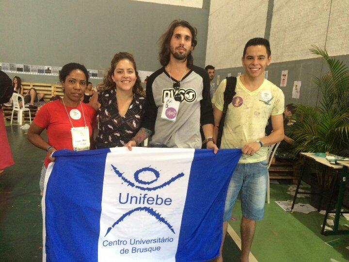Acadêmicos representam UNIFEBE em Congresso de Estudantes