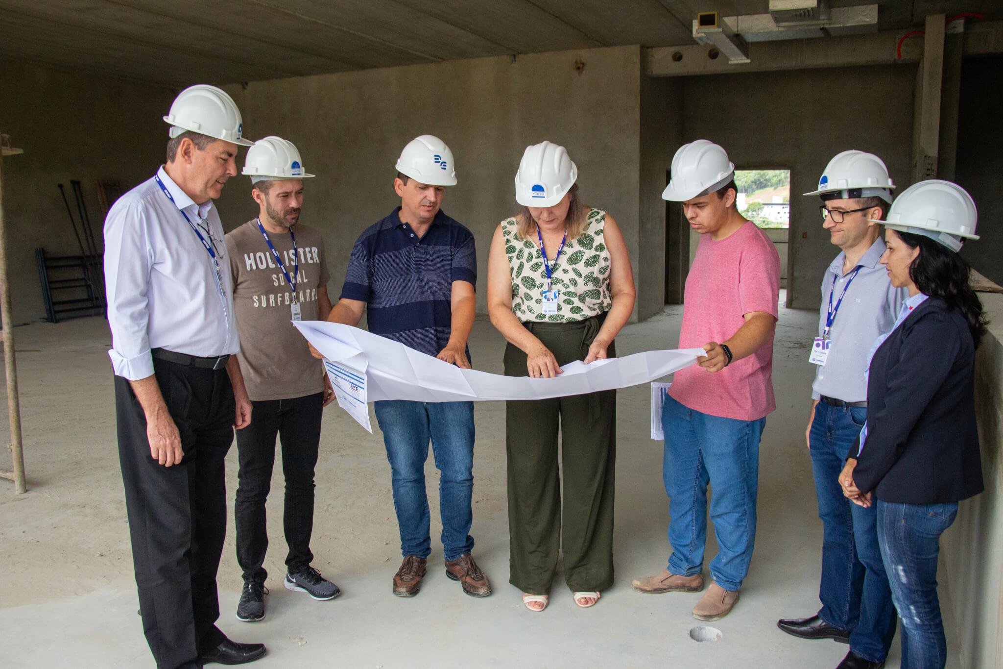 Construção do Bloco da Saúde seguirá padrões de ambientes hospitalares