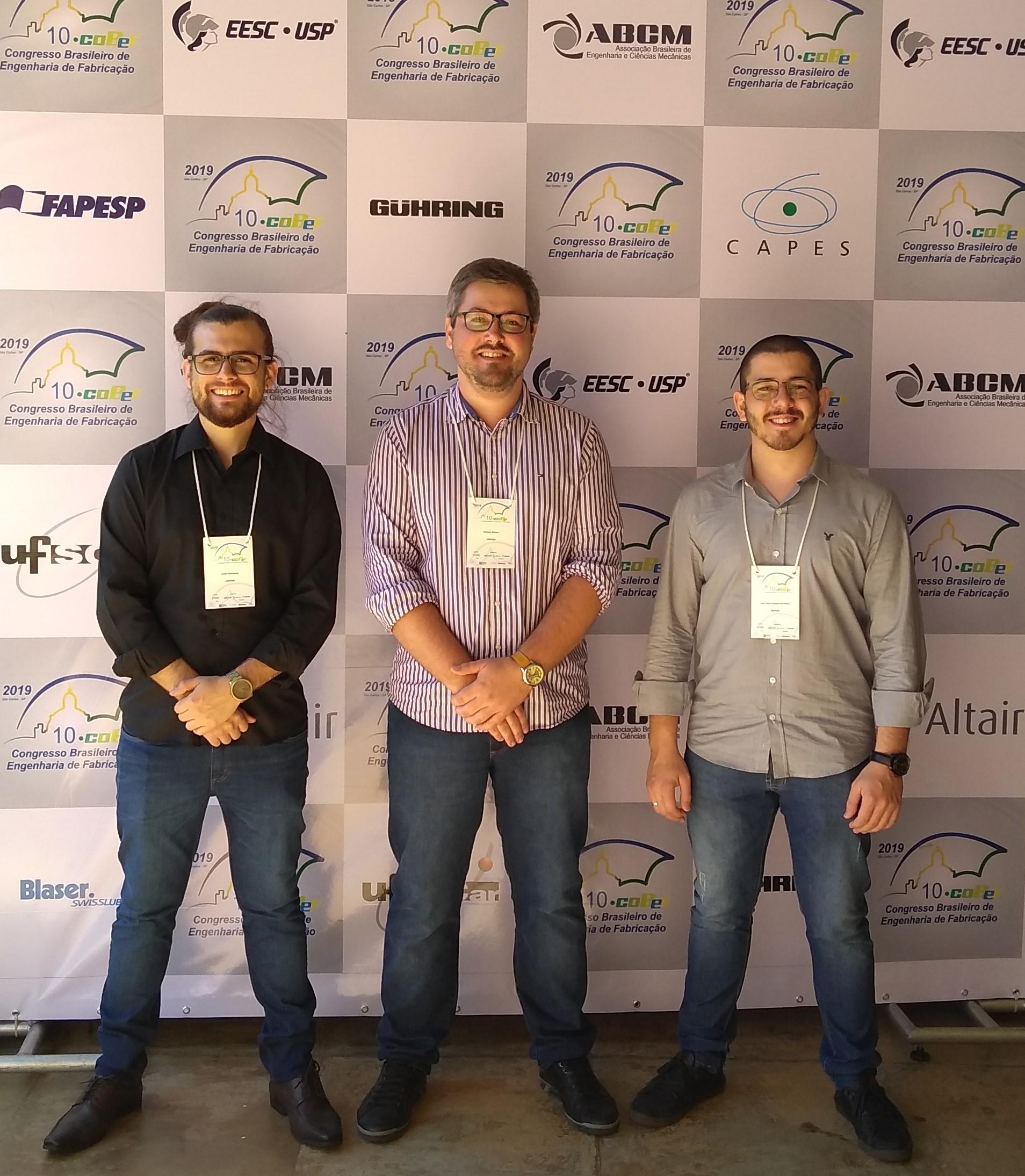 Curso de Engenharia Mecânica representa a UNIFEBE em Congresso Nacional