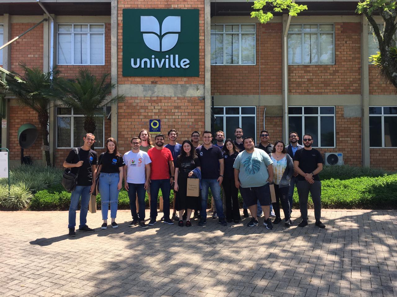 DCE UNIFEBE participa do Encontro do Conselho de DCEs das universidades comunitárias