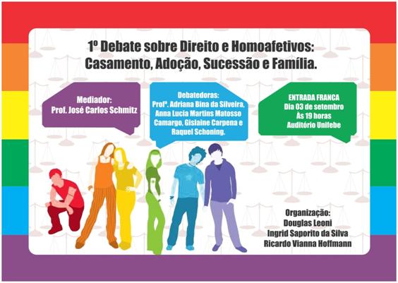 Direitos homoafetivos ganham destaque em Debate na UNIFEBE