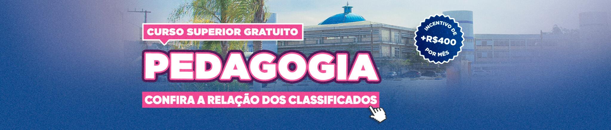 DESKTOP curso gratuito PEDAGOGIA RELAÇÃO CLASSIFICADOS