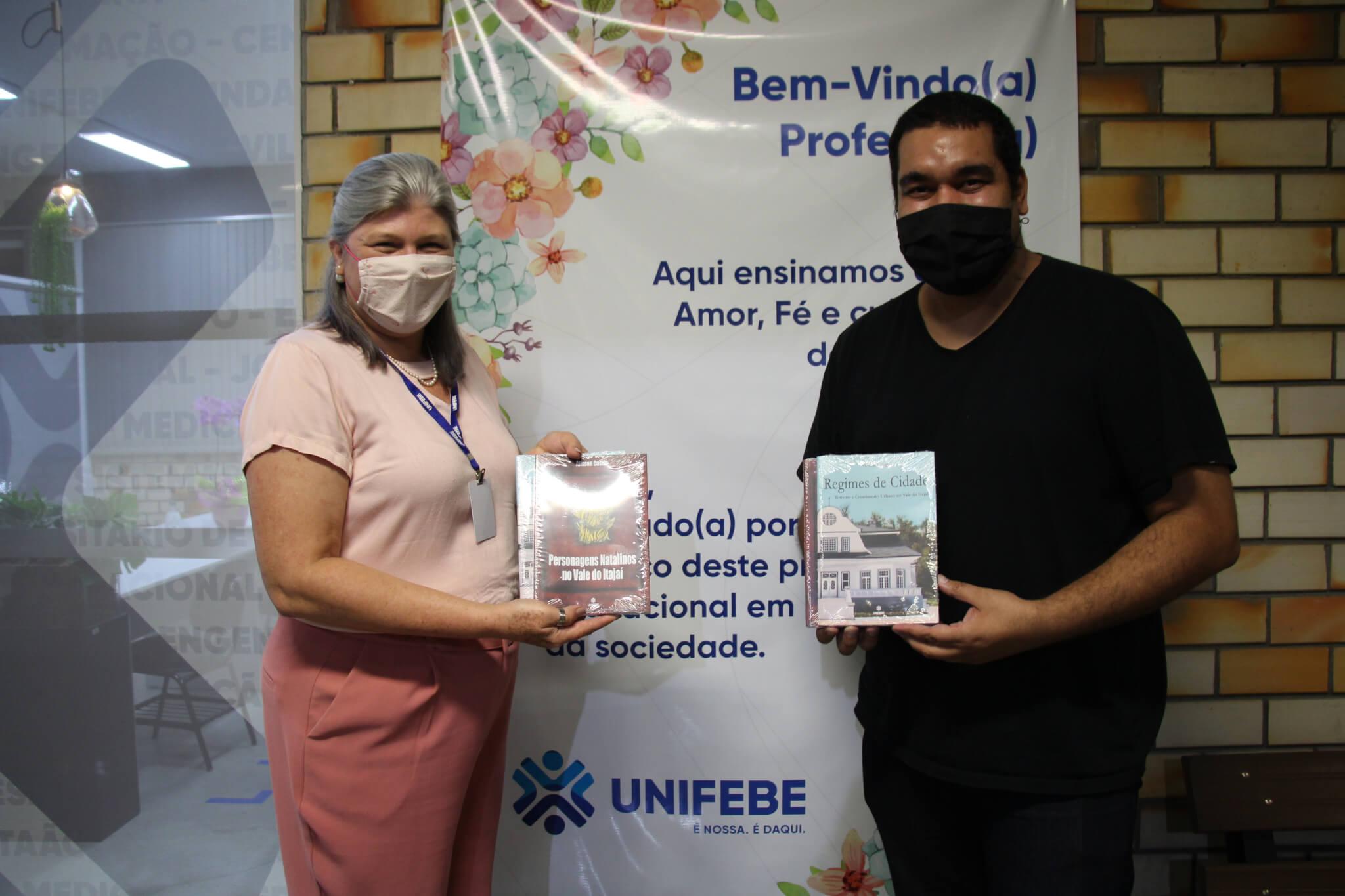 Editora UNIFEBE publica duas novas obras