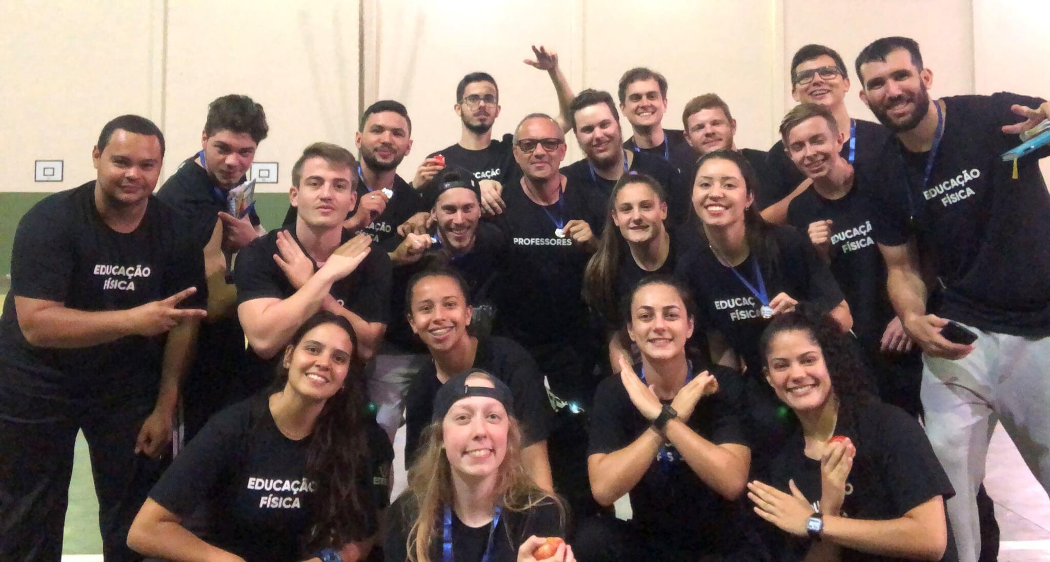 Educação Física UNIFEBE promove atividade na Escola João XXIII