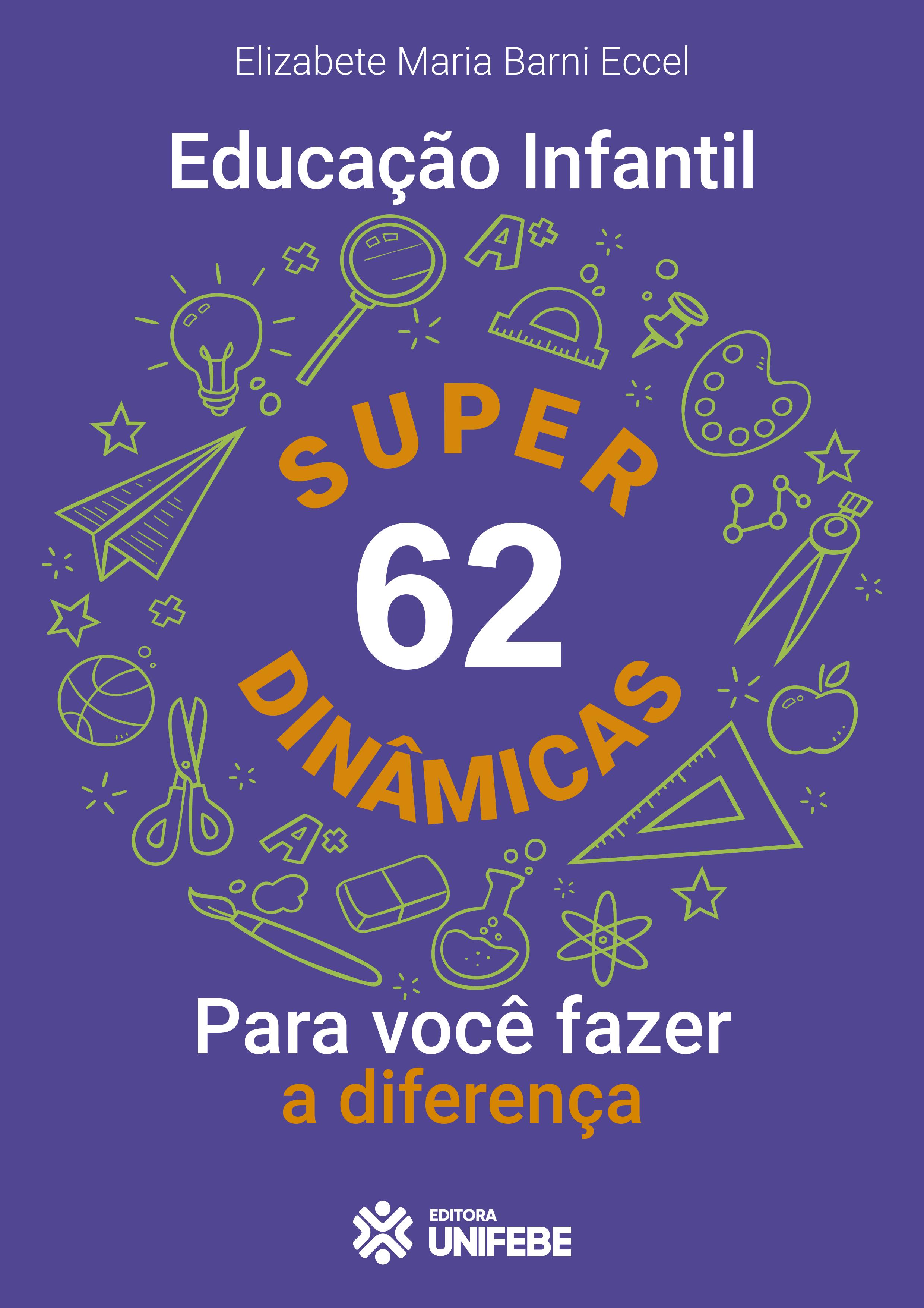 Capa – Educação Infantil – 62 Super Dinâmicas