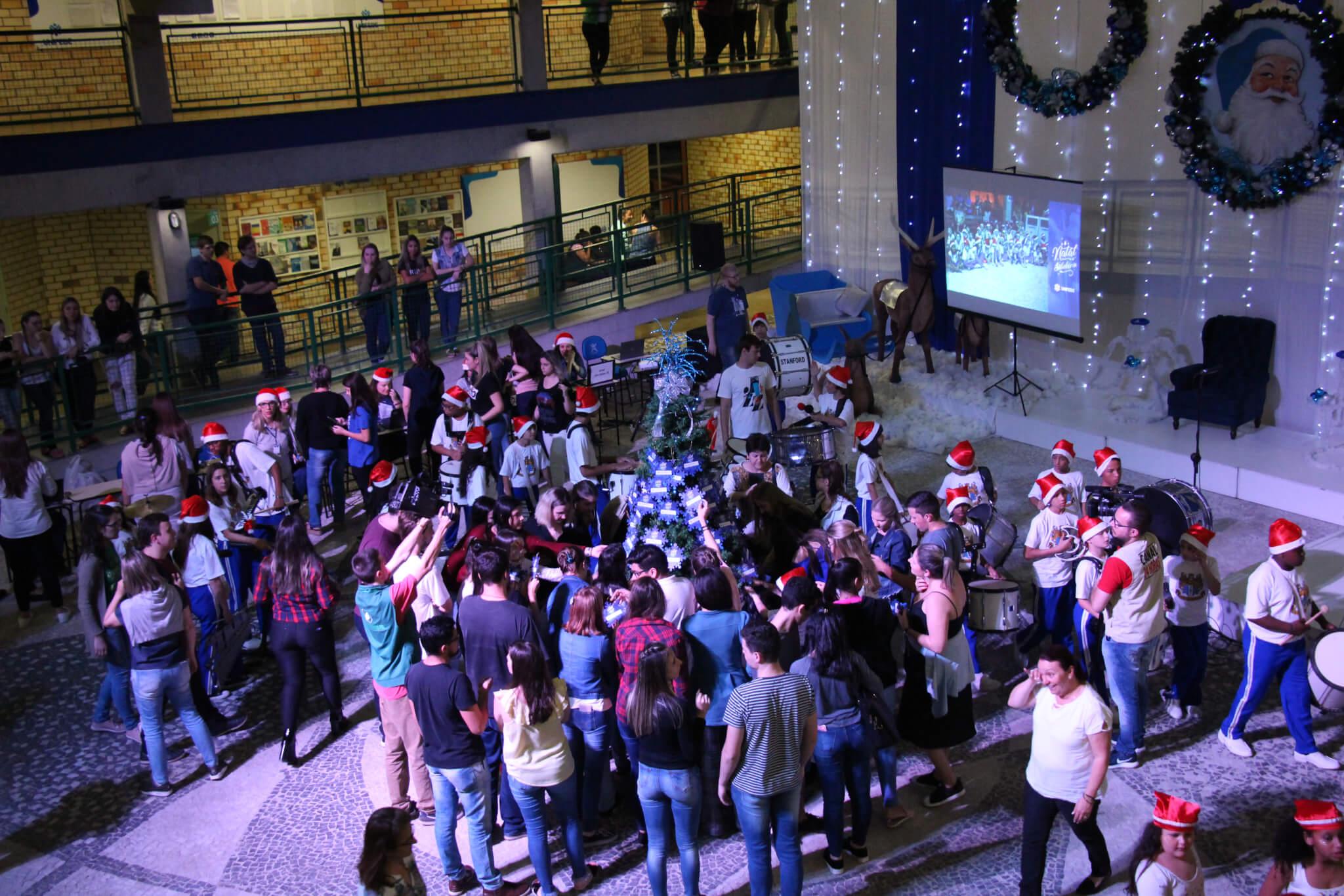 Emoção marca o lançamento da 16ª edição do Natal Solidário UNIFEBE