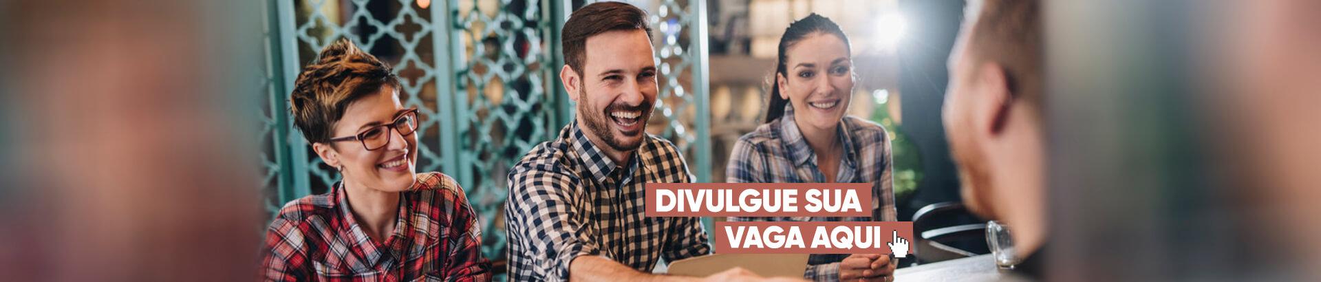 Banner Rotativo Desktop Divulgue sua vaga aqui