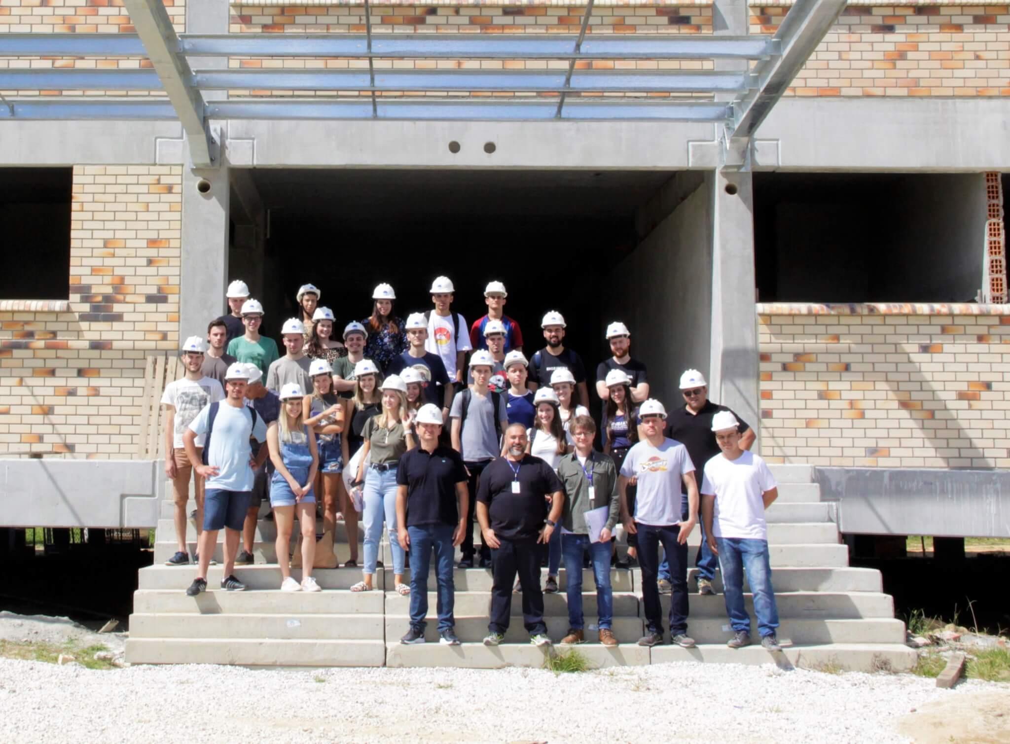 Engenharia Civil promove visita técnica ao Bloco da Saúde