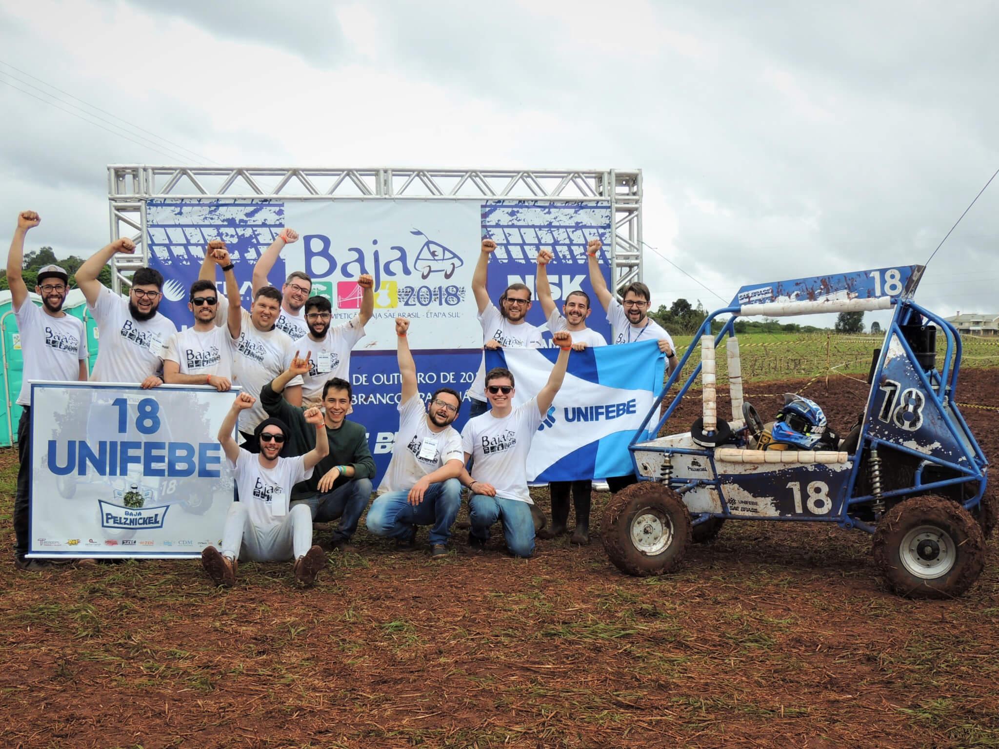 Equipe Baja Pelznickel da UNIFEBE se destaca em competição nacional