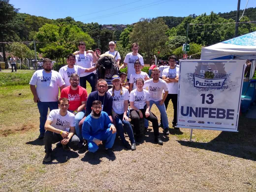 Equipe Baja Pelznickel UNIFEBE garante bom resultado em competição