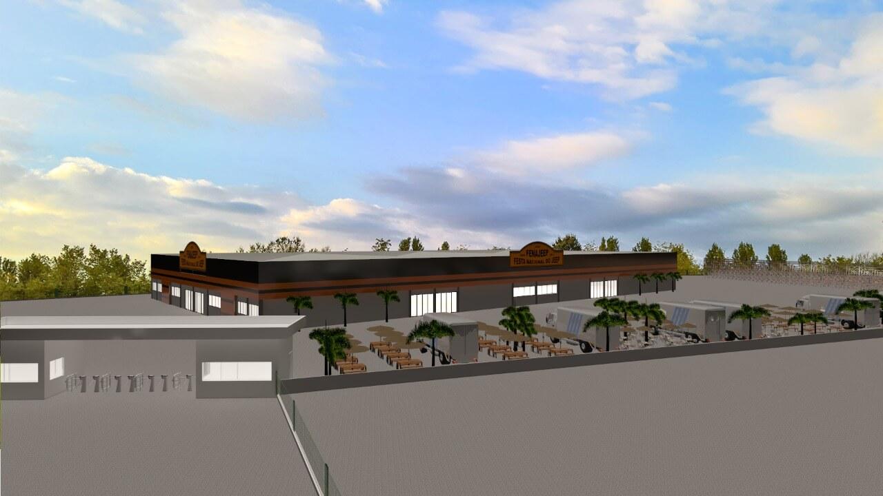 Equipe Terra Legal é vencedora do concurso arquitetônico do Centro de Eventos Brusque Jeep Clube