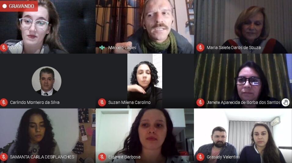 Escritor Marcelo Labes palestra para os acadêmicos de Letras- Inglês da UNIFEBE