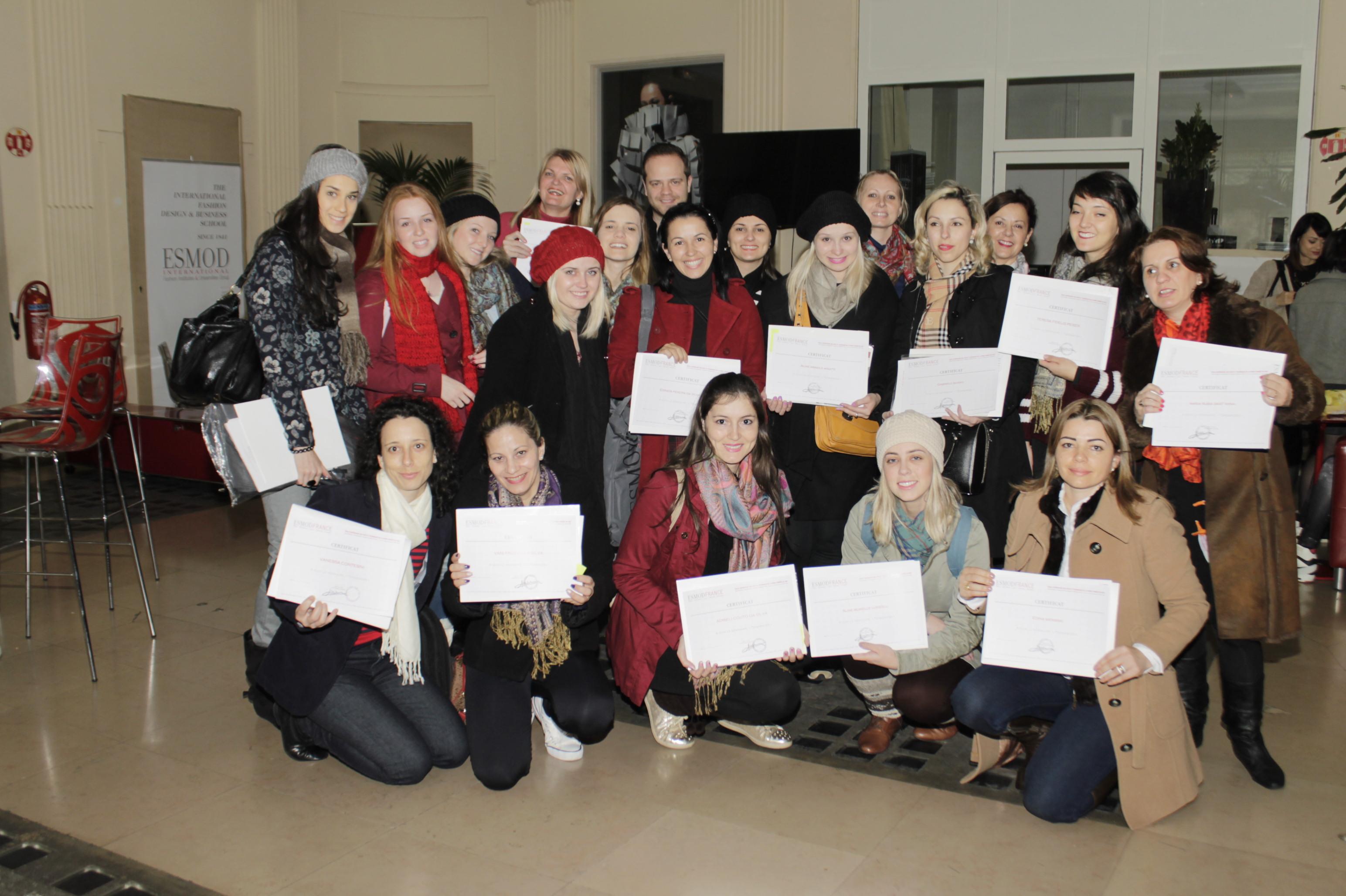 EuroFashion/UNIFEBE: alunas assistem seminário na ESMOD