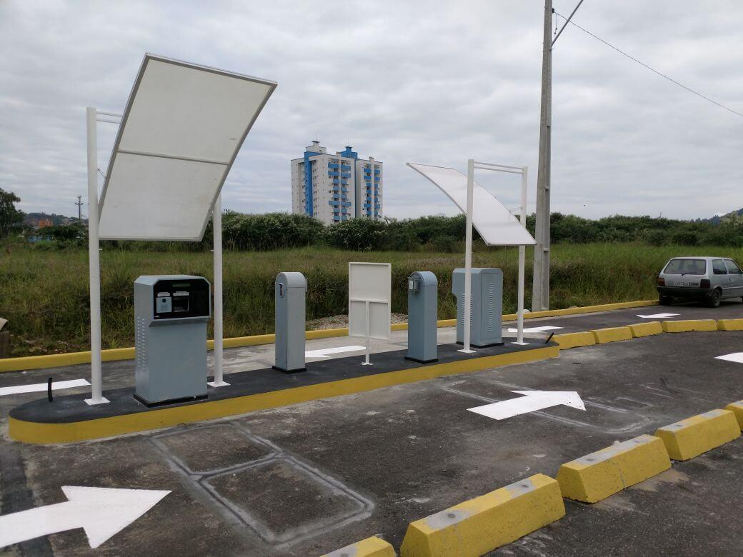 Estacionamento ganhará novos acessos